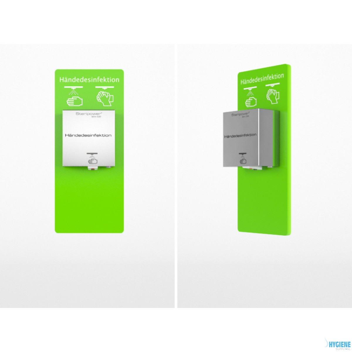 Steripower® Perspex Mini 500 wandpaneel 80607 43480296 GRASGROEN