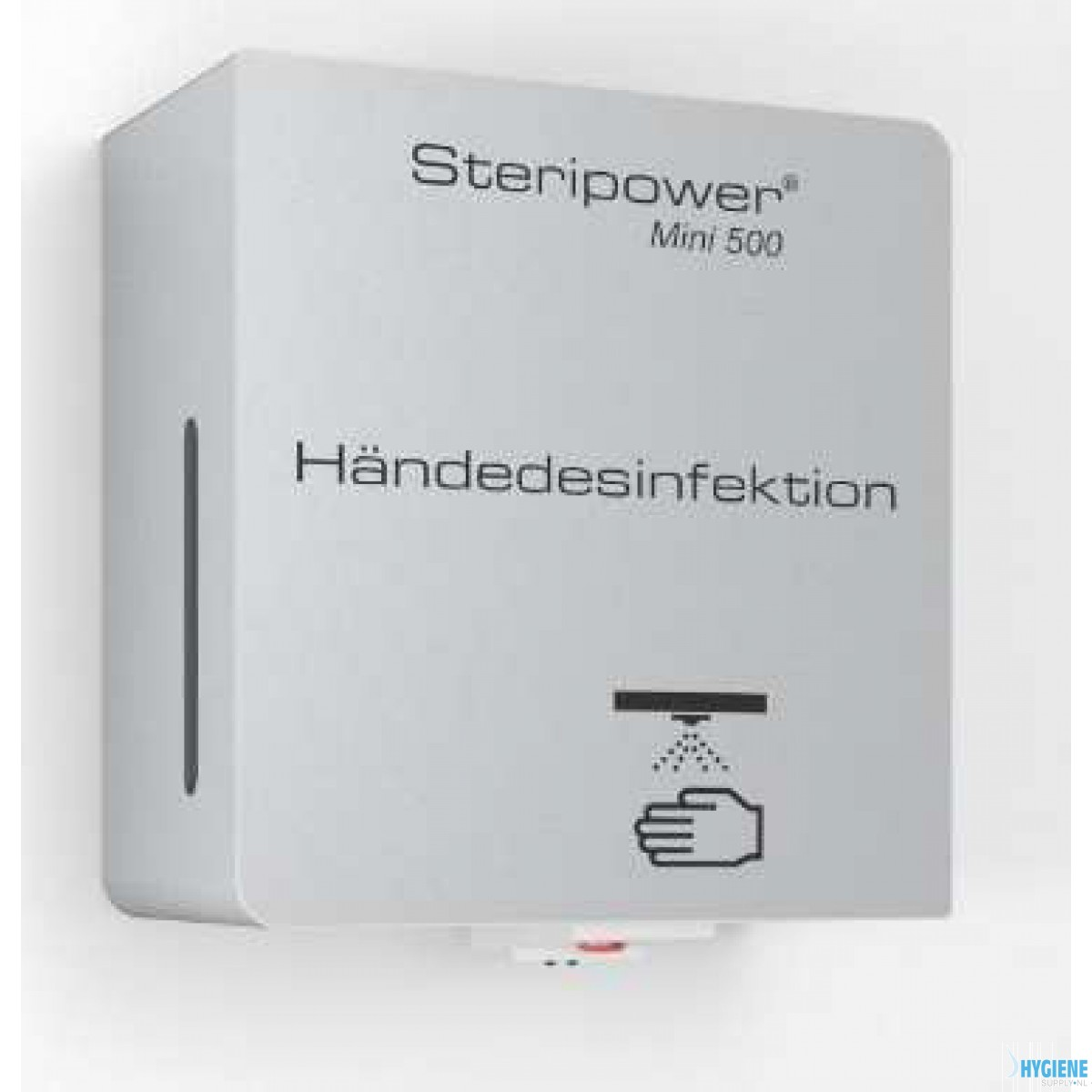 Steripower® Mini 500 handdesinfectieunit roestvrijstaal accu 40501 43480272 Wit