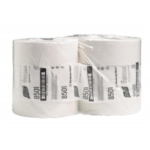 SCOTT* Performance Toilettissue Jumbo 400M 8501 Wit - Kimberly Clark