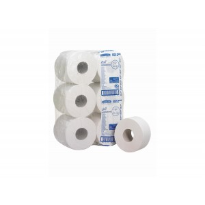 SCOTT* Performance Toilettissue Jumbo 200M 8512 Wit - Kimberly Clark