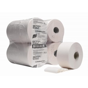 SCOTT* Performance Toilettissue Mini Jumbo 180M 8522 Wit - Kimberly Clark