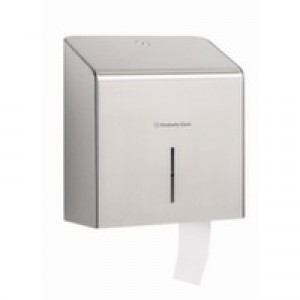 KIMBERLY-CLARK PROFESSIONAL* Toilettissue Dispenser Mini Jumbo 8974 RVS - Kimberly Clark