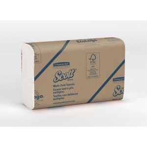 SCOTT* Handdoeken MultiFold Medium 1804 Wit - Kimberly Clark