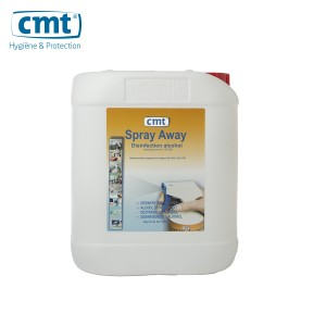 CMT Spray-Away® Disinfection alcohol 5000ml can 43480113 - CMT