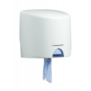 AQUARIUS* Poetsdoek Dispenser Rollcontrol 7018 Wit - Kimberly Clark