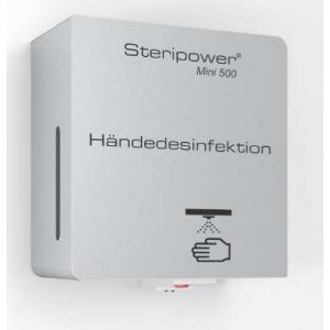 Steripower® Mini 500 handdesinfectieunit roestvrijstaal accu 40501 43480270